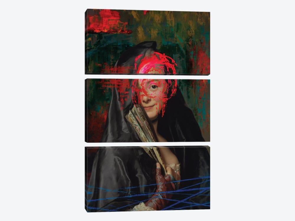 Vandalism II by José Luis Guerrero 3-piece Canvas Artwork