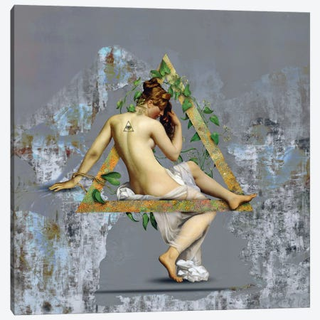 Venus Canvas Print #JLG77} by José Luis Guerrero Canvas Art Print