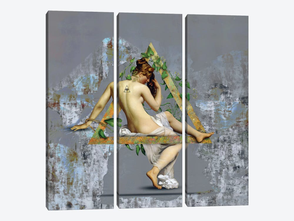 Venus by José Luis Guerrero 3-piece Canvas Print