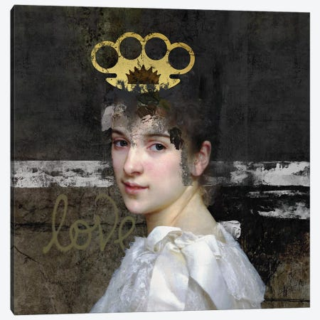Woman Canvas Print #JLG79} by José Luis Guerrero Canvas Wall Art
