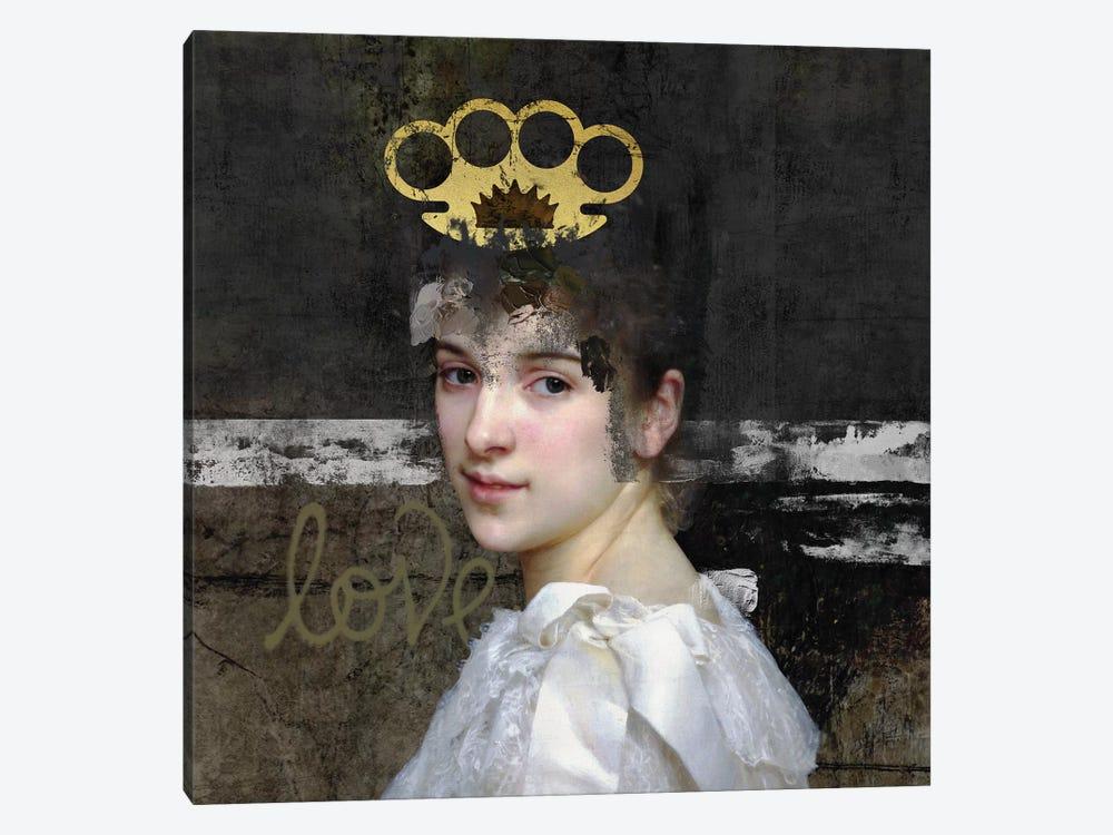 Woman by José Luis Guerrero 1-piece Canvas Art Print