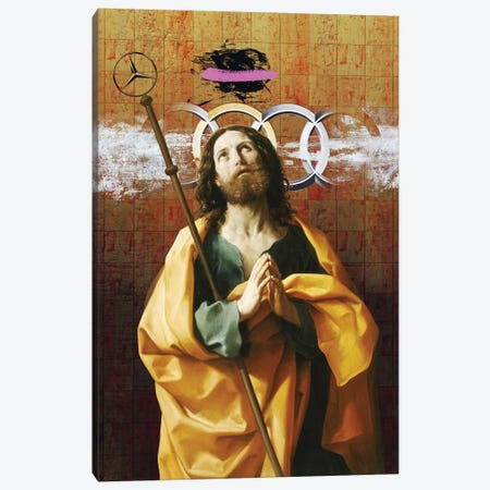 Worship Canvas Print #JLG80} by José Luis Guerrero Canvas Print