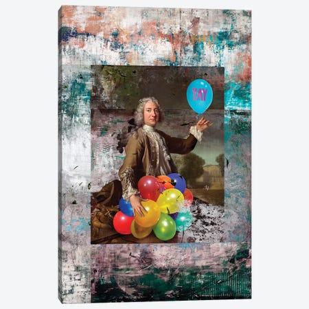 YAY Canvas Print #JLG81} by José Luis Guerrero Art Print
