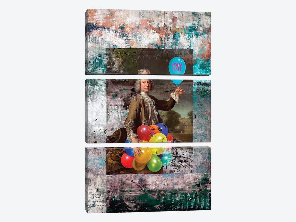 YAY by José Luis Guerrero 3-piece Canvas Artwork
