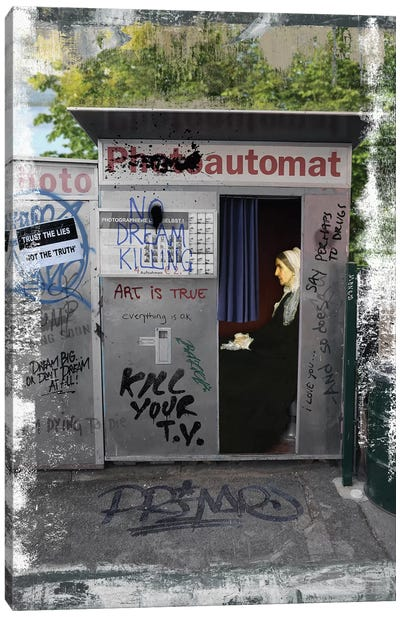 Automat  Canvas Art Print