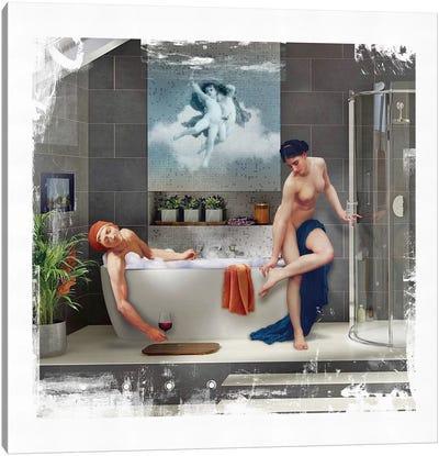 Bathtime  Canvas Art Print