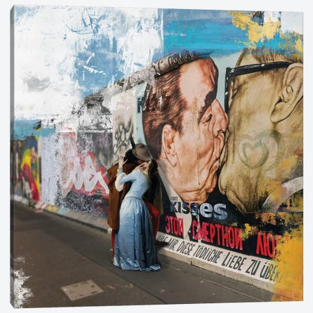 Kisses  Canvas Print #JLG85} by José Luis Guerrero Canvas Wall Art