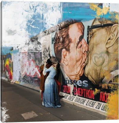 Kisses  Canvas Art Print