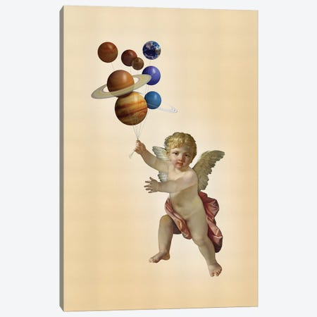 Angel Canvas Print #JLG92} by José Luis Guerrero Canvas Art