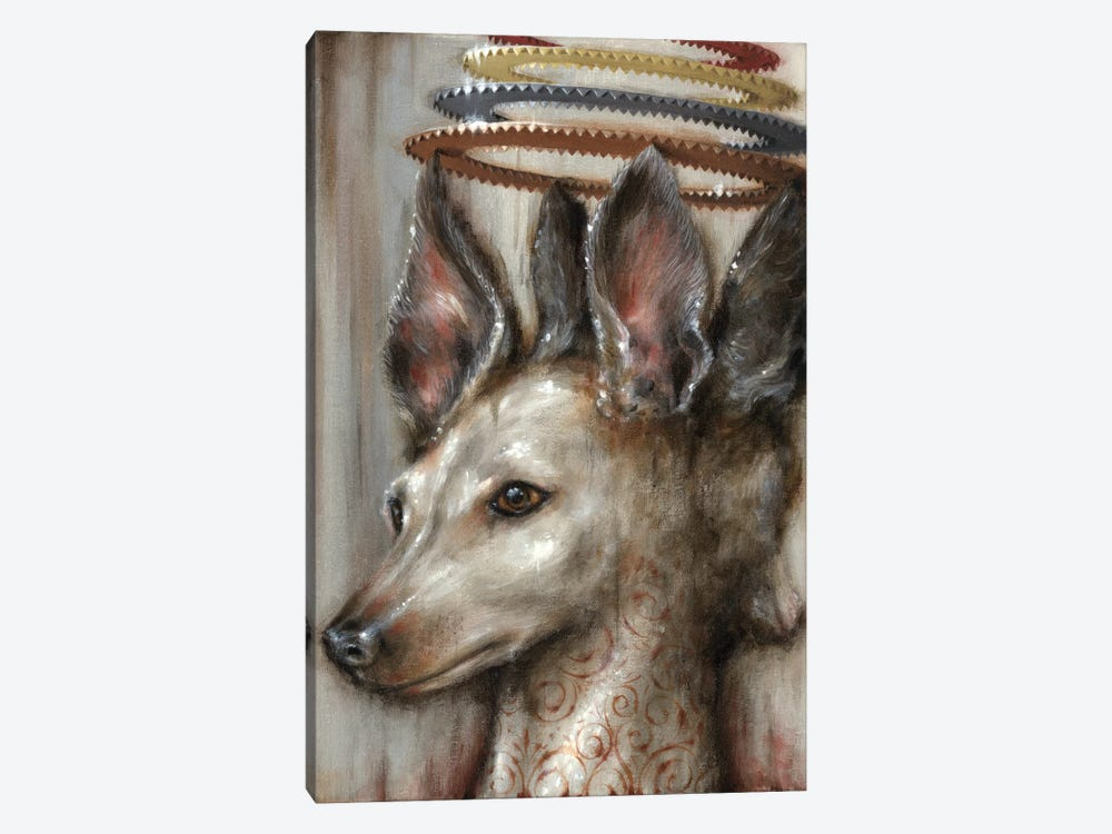 Double Dog by Jason Limon 1-piece Canvas Wall Art