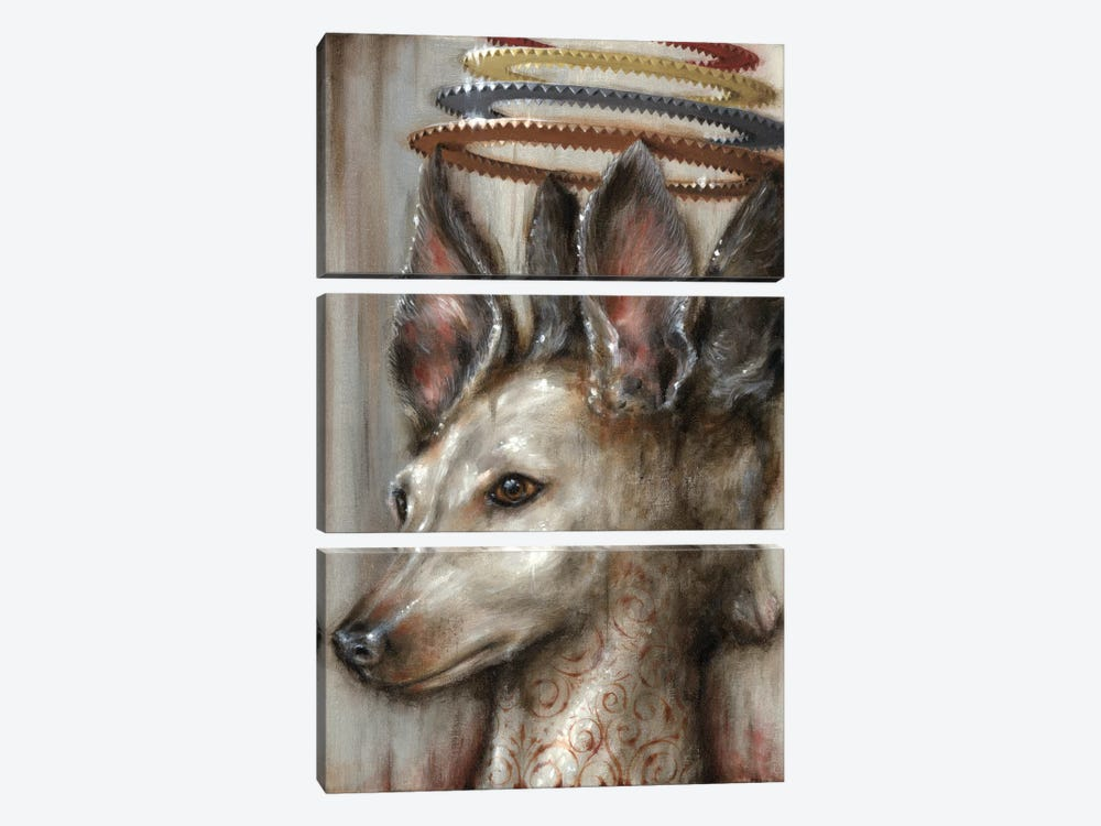 Double Dog by Jason Limon 3-piece Canvas Artwork