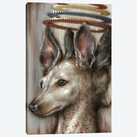 Double Dog Canvas Print #JLI11} by Jason Limon Canvas Art