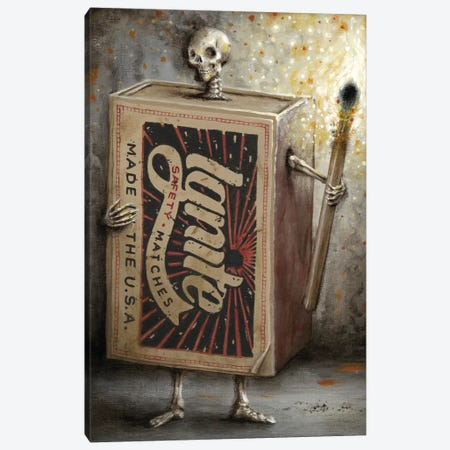 Ignite The Dark Canvas Print #JLI14} by Jason Limon Art Print