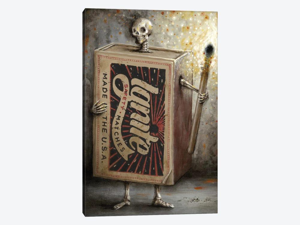 Ignite The Dark by Jason Limon 1-piece Canvas Print