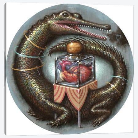 Impervious Heart Canvas Print #JLI15} by Jason Limon Art Print