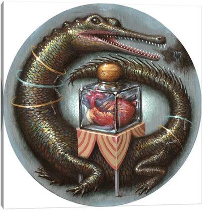 Impervious Heart Canvas Art Print