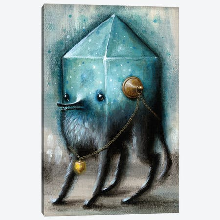 Jewel Hound Blue Canvas Print #JLI16} by Jason Limon Canvas Art Print