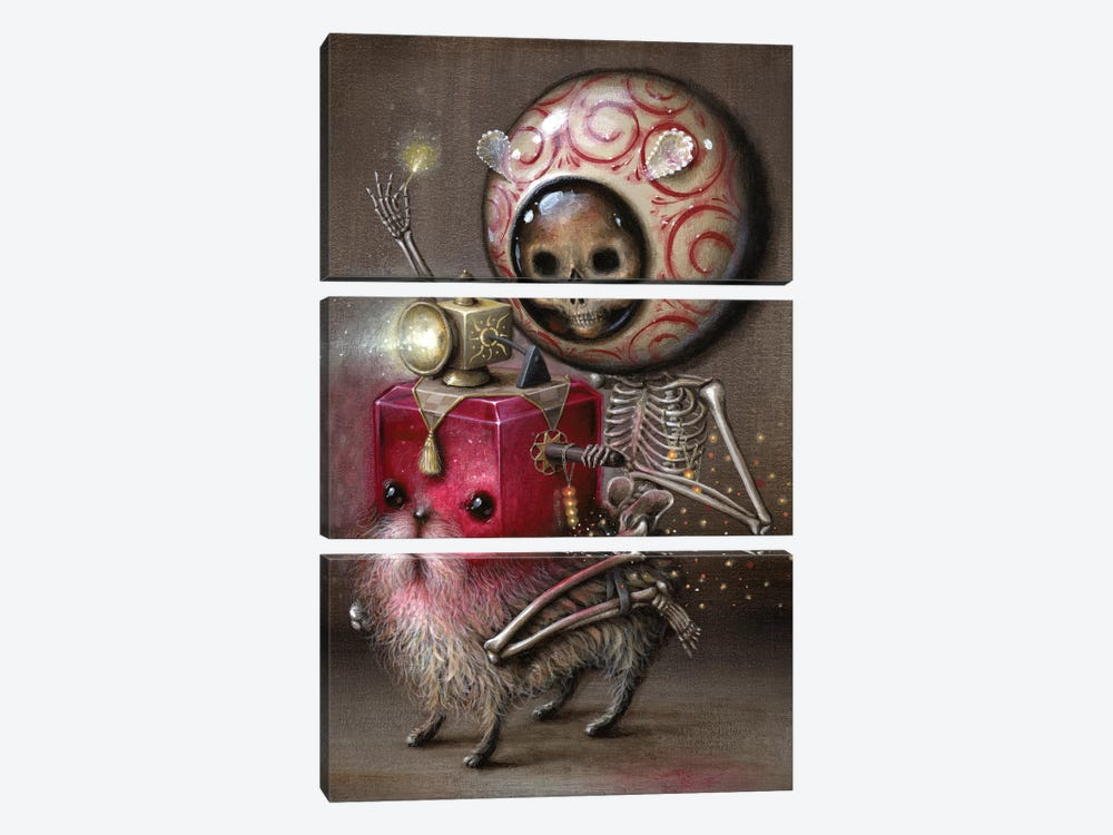Light Rider by Jason Limon 3-piece Canvas Artwork