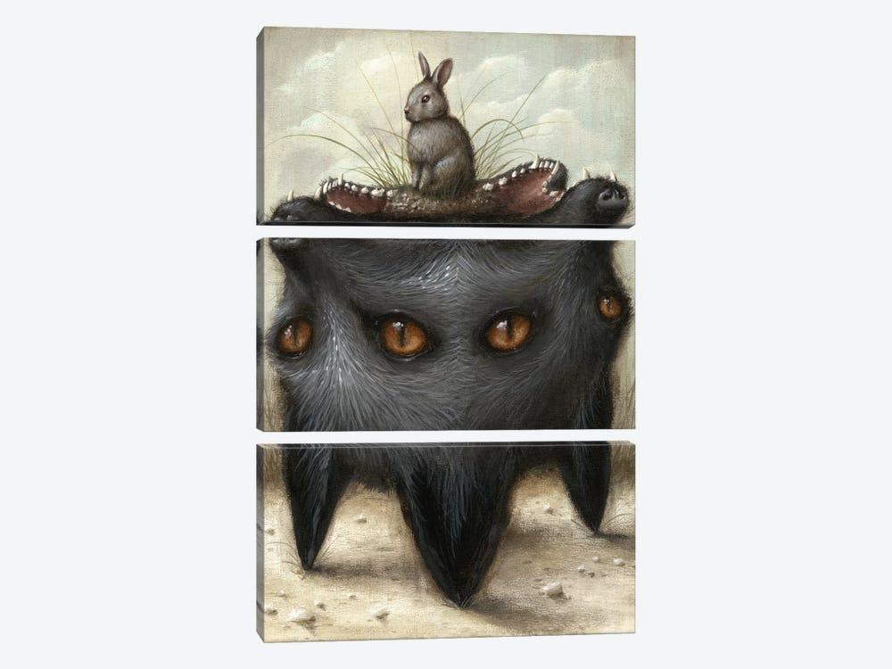 Perilous Hunch by Jason Limon 3-piece Canvas Artwork