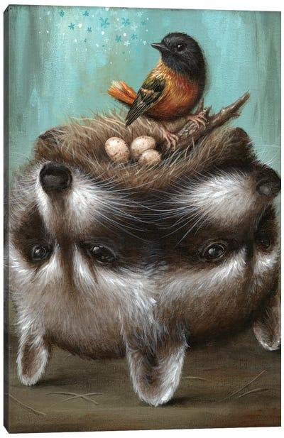 Perilous Nest Canvas Print #JLI25