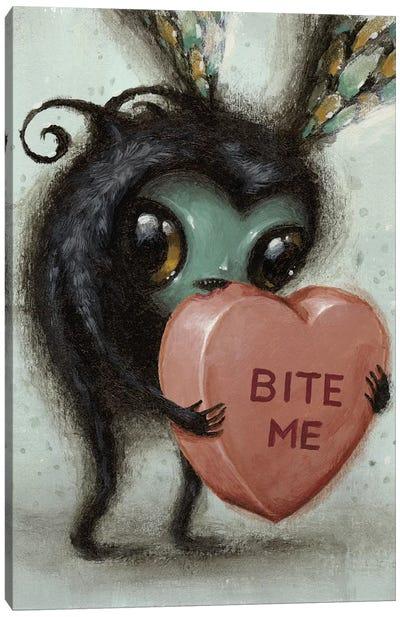 Bite Me Canvas Art Print