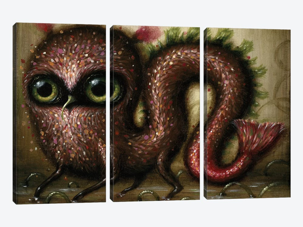 Wriggle by Jason Limon 3-piece Canvas Artwork