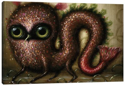 Wriggle Canvas Art Print