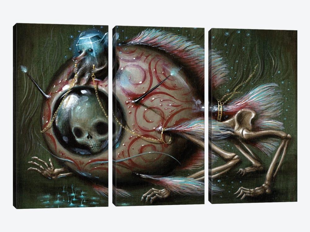 Bottom Feeder by Jason Limon 3-piece Canvas Artwork