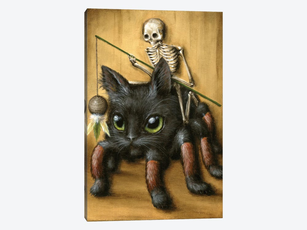 Catantula by Jason Limon 1-piece Canvas Print