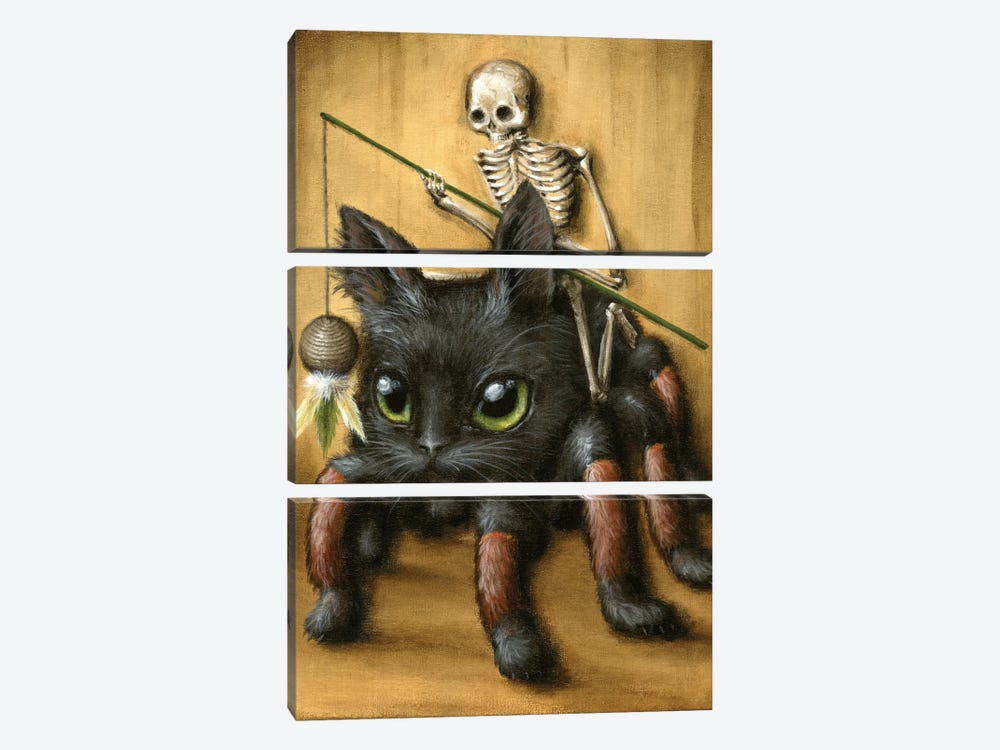 Catantula by Jason Limon 3-piece Art Print