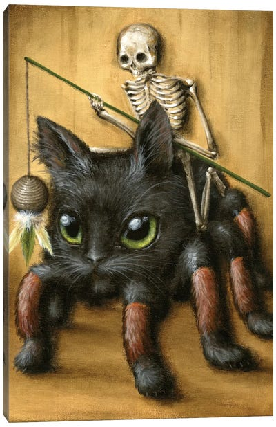 Catantula Canvas Art Print