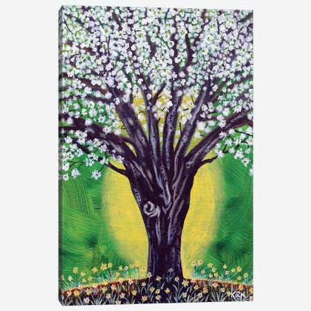 In Bloom 3-Piece Canvas #JLK103} by Jerry Lee Kirk Canvas Wall Art