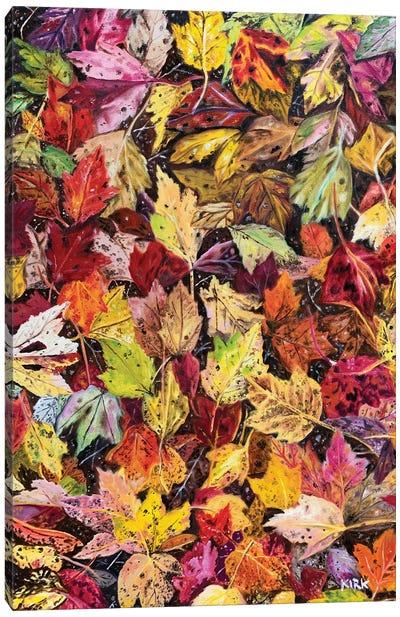 Fallen Autumn Canvas Art Print