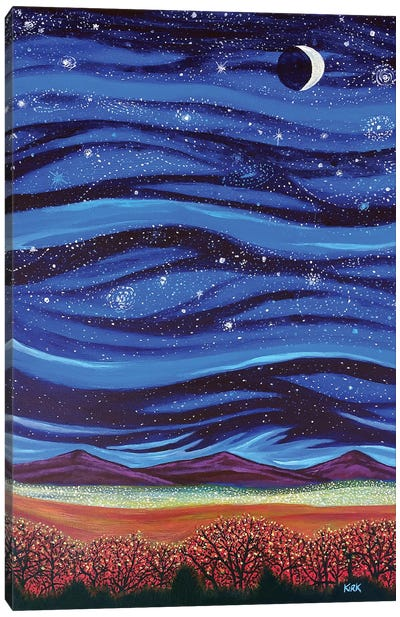 In The Heavens As On Earth Canvas Art Print