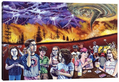 This Is Why The World Will End Canvas Art Print