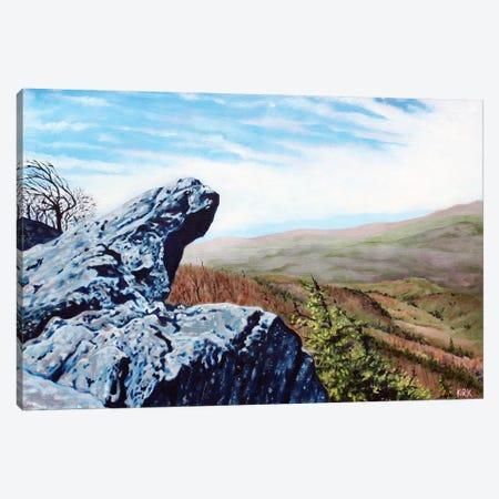 Blowing Rock Canvas Print #JLK14} by Jerry Lee Kirk Canvas Print