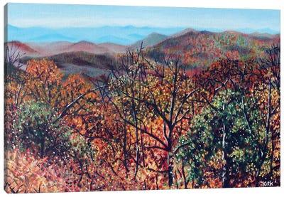 Blueridge Vista Canvas Art Print