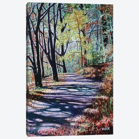 Chetola Trail Canvas Print #JLK17} by Jerry Lee Kirk Canvas Art Print
