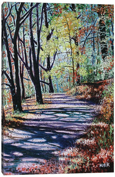 Chetola Trail Canvas Art Print