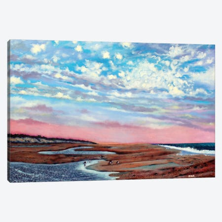 Clouds Over Salvo Canvas Print #JLK20} by Jerry Lee Kirk Art Print