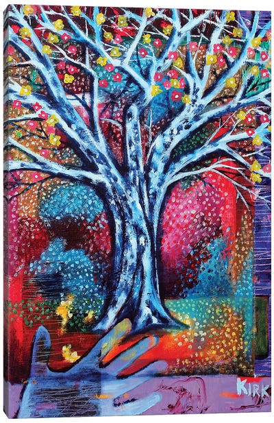 Dreaming Tree Canvas Art Print