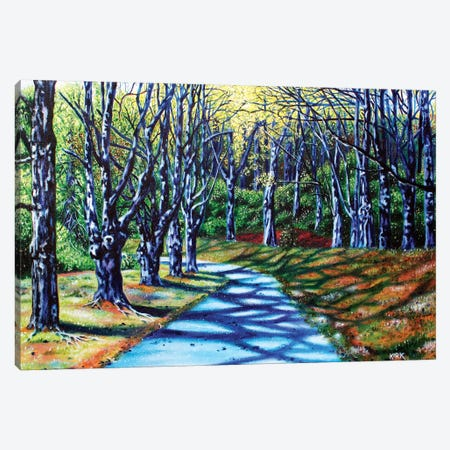 Early Spring Morning Basslake Canvas Print #JLK25} by Jerry Lee Kirk Canvas Wall Art