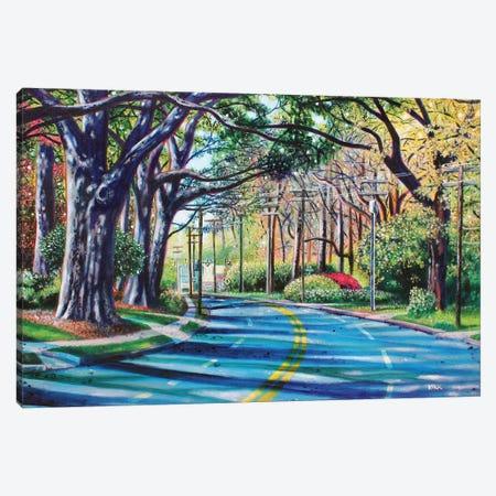 Entering Myers Park Canvas Print #JLK32} by Jerry Lee Kirk Canvas Artwork