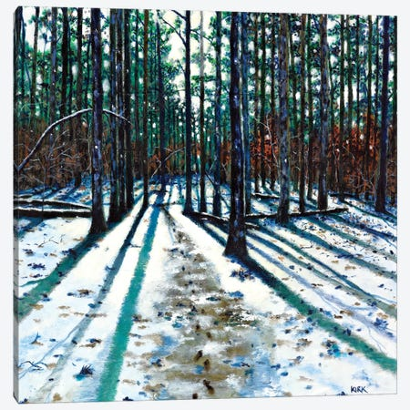 Into The Woods Canvas Print #JLK40} by Jerry Lee Kirk Canvas Art Print
