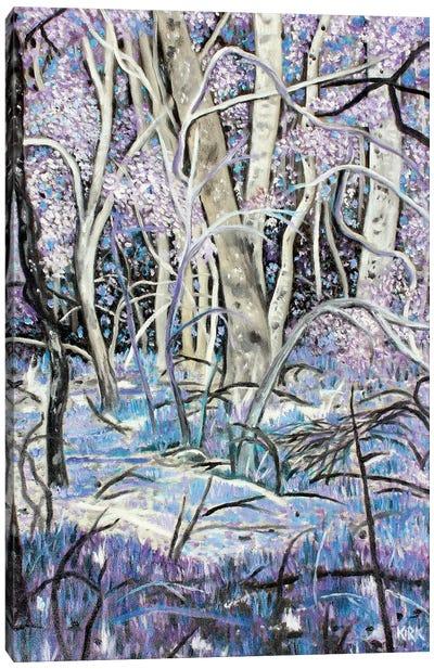 Lavender Woods Canvas Art Print