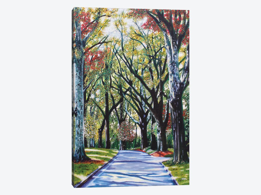 Queens Road West by Jerry Lee Kirk 1-piece Canvas Artwork