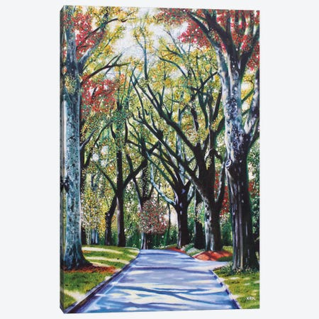 Queens Road West Canvas Print #JLK52} by Jerry Lee Kirk Canvas Artwork