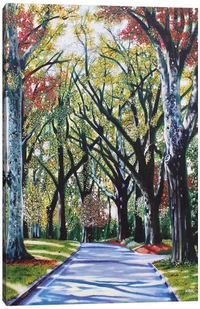 Queens Road West Canvas Art Print
