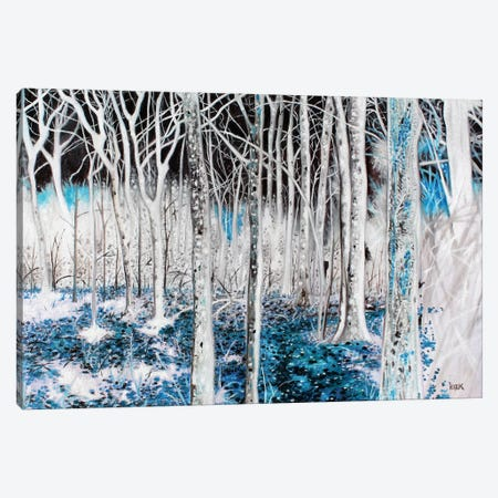 Spirit Woods Canvas Print #JLK58} by Jerry Lee Kirk Canvas Wall Art
