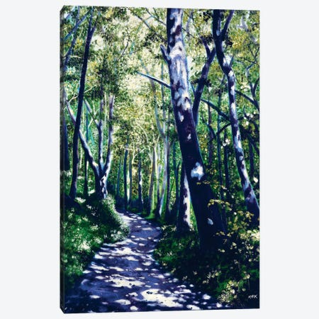 Summer Woods Canvas Print #JLK61} by Jerry Lee Kirk Canvas Print